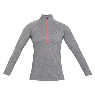 Under Armour Tech 1/2 Zip - Twist Graphite / Brilliance / Metallic Silver