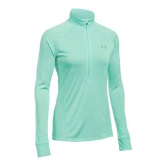Under Armour Tech 1/2 Zip - Twist Tropical Tide / Tropical Tide / Metallic Silver