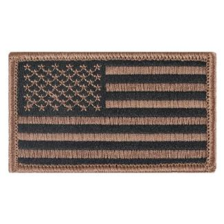 TG American Flag Patch Subdued Tan