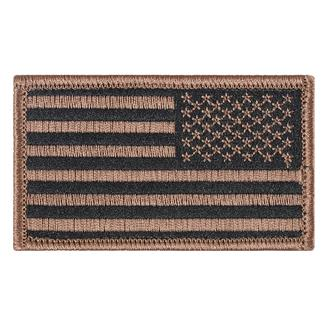 TG American Flag Reversed Patch Subdued Tan