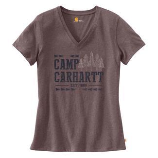Carhartt Lockhart Graphic Camp T-Shirt Sparrow Nep
