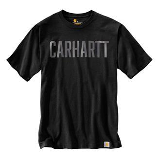 Carhartt Workwear Graphic Block Logo T-Shirt Black