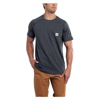 Carhartt Force Delmont T-Shirt Granite Heather