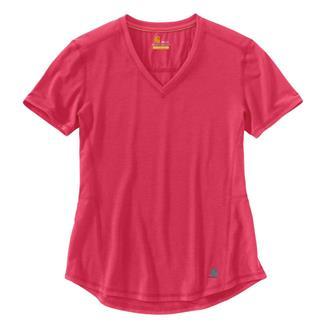 Carhartt Force Ferndale T-Shirt Cranberry Heather