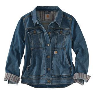 Carhartt Benson Denim Jacket Stonewash