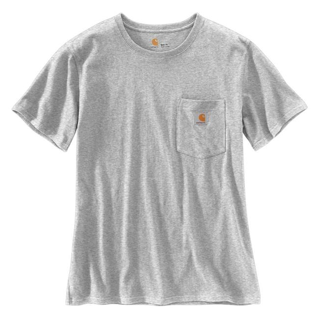 c38ba9969 Women's Carhartt WK87 Workwear Pocket T-Shirt | Tactical Gear ...