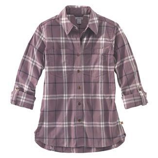 Carhartt Fairview Plaid Shirt Sparrow