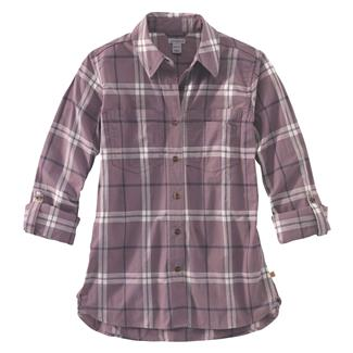 Carhartt Fairview Plaid Shirt Sparrow