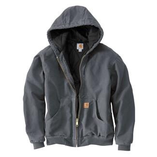 Carhartt Quilted Flannel Sandstone Active Jac Gravel
