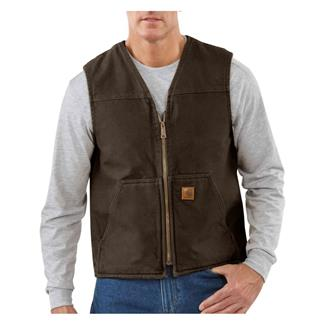 Carhartt Rugged Vest Dark Brown