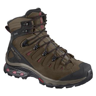 Salomon Quest 4D 3 GTX Teak / Tibetain Red