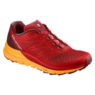 Salomon Sense Pro Max Fiery Red / Bright Marigold / Syrah
