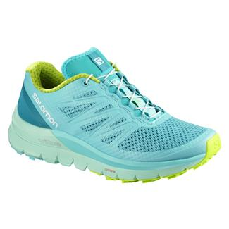 Salomon Sense Pro Max Blue Curacao / Beach Glass / Acid Lime