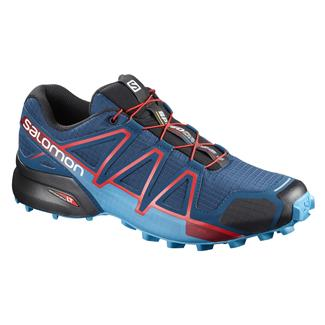 Salomon Speedcross 4 Poseidon / Hawaiian Surf / Firey Red