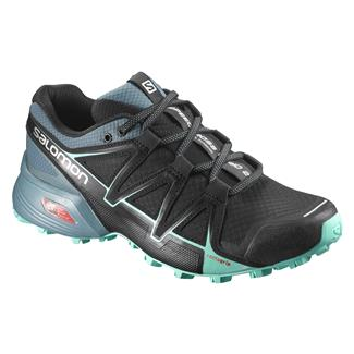Salomon Speedcross Vario Black / North Atlantic / Biscay Green