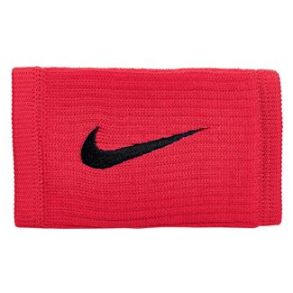 NIKE Dri-FIT Reveal Doublewide Wristbands University Red / Black / Black