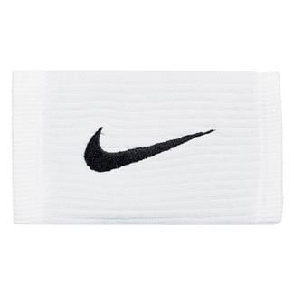 NIKE Dri-FIT Reveal Doublewide Wristbands White / Cool Gray / Black