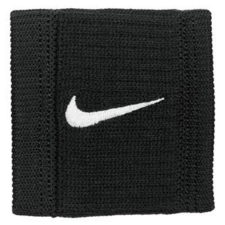NIKE Dri-FIT Reveal Wristbands Black / Dark Gray / White