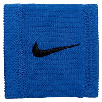 NIKE Dri-FIT Reveal Wristbands Hyper Cobalt / Black / Black