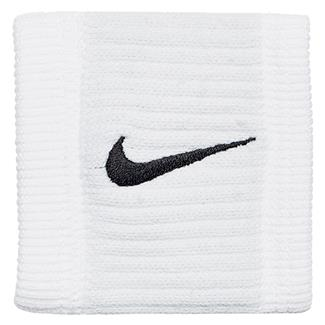 NIKE Dri-FIT Reveal Wristbands White / Cool Gray / Black
