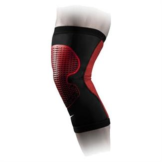 NIKE Pro Hyperstrong Knee Sleeve 3.0 Black / University Red / White