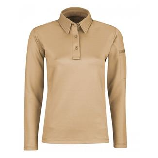 Propper Long Sleeve ICE Polo Silver Tan