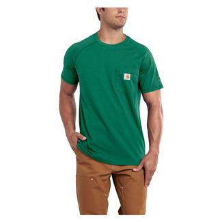 Carhartt Force Delmont T-Shirt Botanical Green