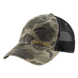 Carhartt Brandt Hat Burnt Olive Camo