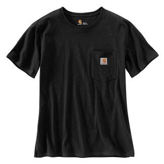 Carhartt WK87 Workwear Pocket T-Shirt Black