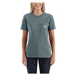 Carhartt WK87 Workwear Pocket T-Shirt Sea Glass
