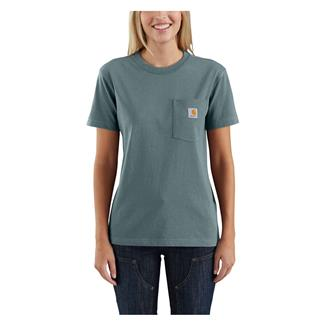 Carhartt WK87 Workwear Pocket T-Shirt Sea Glass