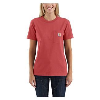Carhartt WK87 Workwear Pocket T-Shirt Cranberry