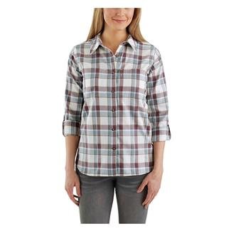 Carhartt Fairview Plaid Shirt Carhartt Burgundy