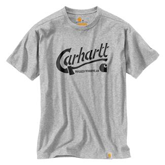 Carhartt Maddock Graphic Ax T-Shirt Heather Gray