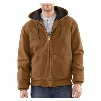 Carhartt Quilted Flannel Sandstone Active Jac Carhartt Brown