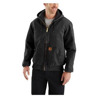Carhartt Quilted Flannel Sandstone Active Jac Black