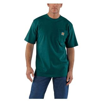 Carhartt Workwear Pocket T-Shirt Hunter Green Heather