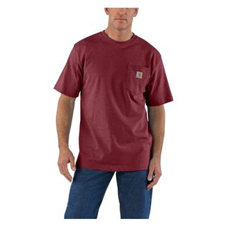 Carhartt Workwear Pocket T-Shirt Port Heather