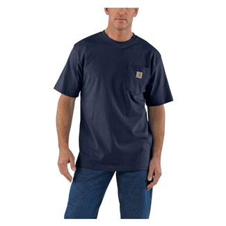 Carhartt Workwear Pocket T-Shirt Navy Heather