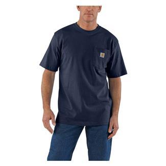 Carhartt Workwear Pocket T-Shirt Navy Heather