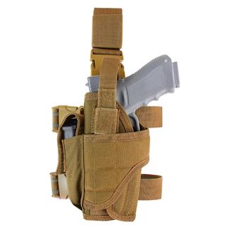Condor Tornado Tactical Leg Holster (Left Hand) Coyote Brown