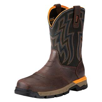 Ariat Rebar Flex Western CT Chocolate Brown
