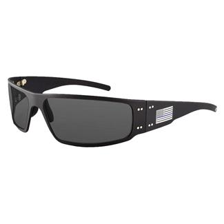 Gatorz Magnum Thin Blue Line Black (frame) - Smoke Polarized (lens)