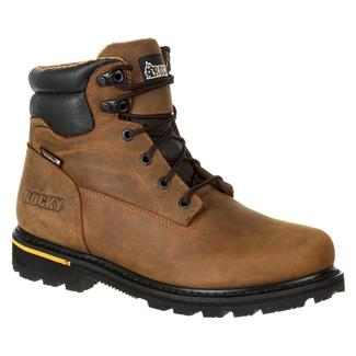 "Rocky 6"" Governor CT WP Distress Brown"