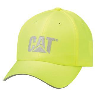 CAT Hi-Vis Trademark Hat Hi-Vis Yellow