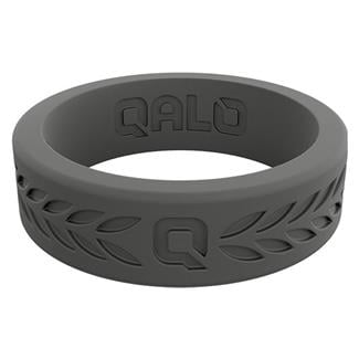 Qalo Laurel Q2X Silicone Ring Charcoal