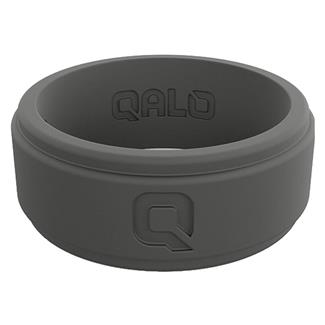 Qalo Step Edge Q2X Silicone Ring Charcoal