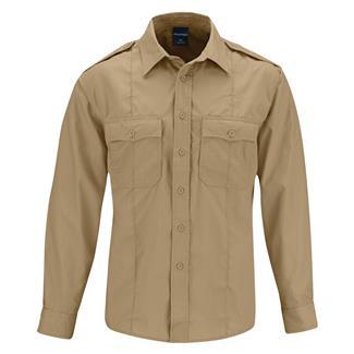 Propper Long Sleeve Class B Ripstop Shirt Khaki