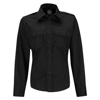 Propper Long Sleeve Class B Twill Shirt Black