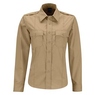 Propper Long Sleeve Class B Ripstop Shirt Khaki